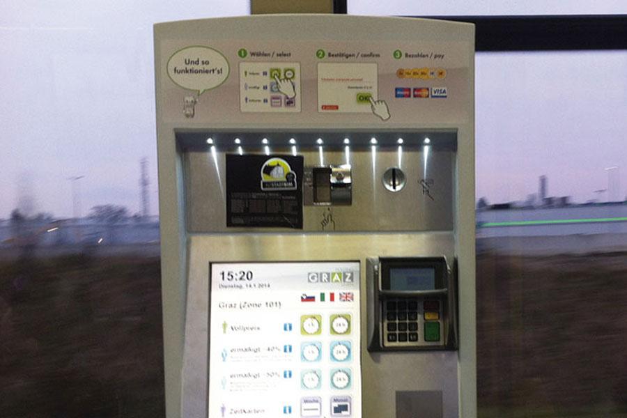 Fahrschein-Automat